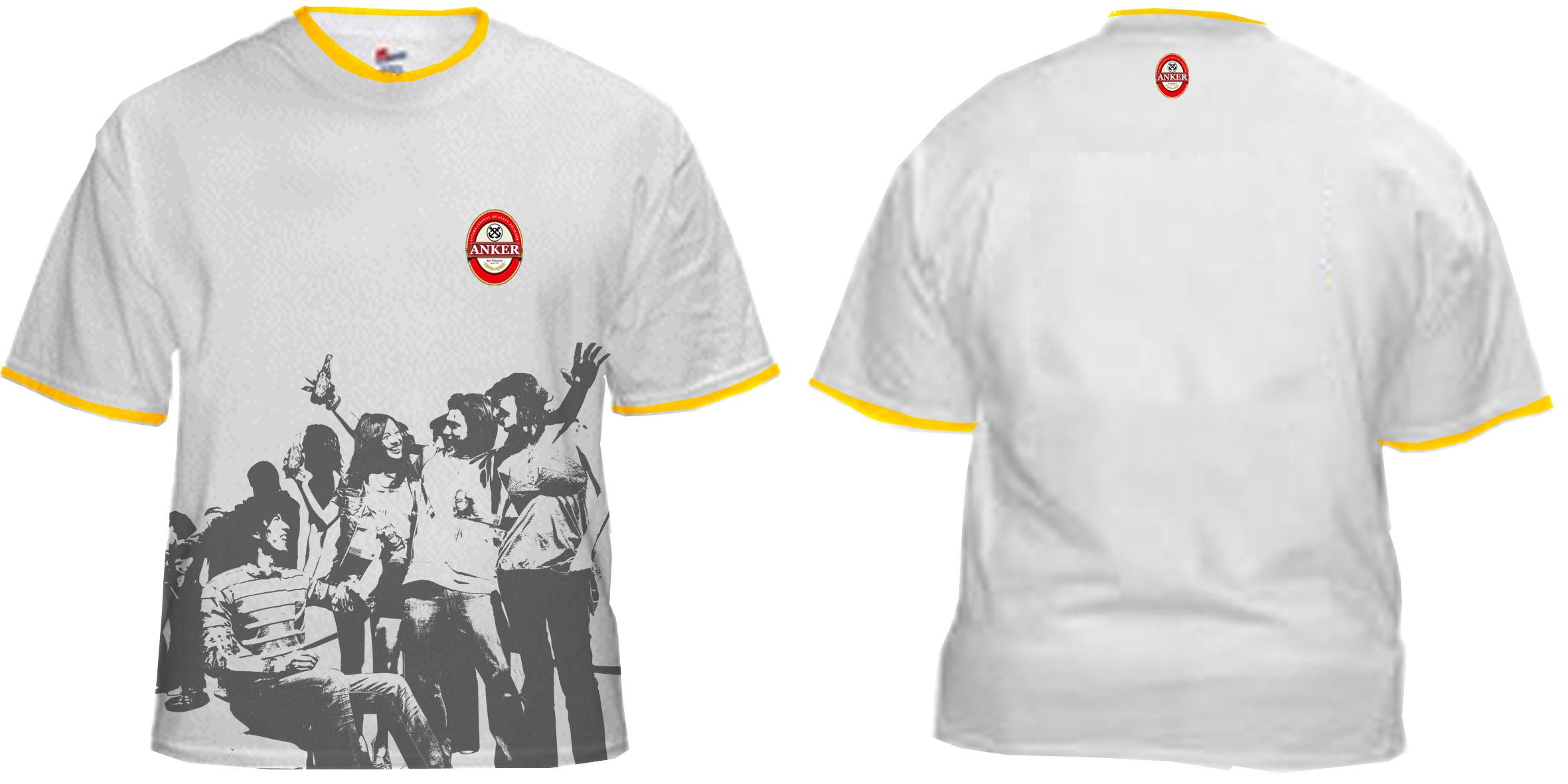 Contoh desain t shirt kelas -  Tshirtab Putih Siluet Antripsd Jpg